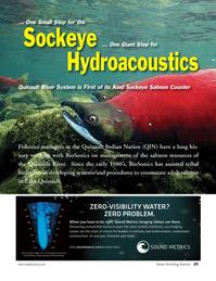 Marine Technology Magazine, page 29,  Oct 2011 Salmon CounterFisheries