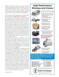 Marine Technology Magazine, page 39,  Oct 2011 In-Field Service