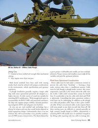 Marine Technology Magazine, page 43,  Oct 2011 optimum solution