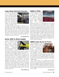 Marine Technology Magazine, page 59,  Oct 2011 multibeam sonar technology