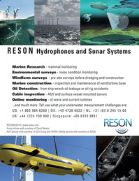 Marine Technology Magazine, page 3rd Cover,  Oct 2011