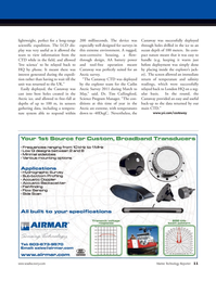 Marine Technology Magazine, page 11,  Nov 2011