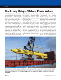 Marine Technology Magazine, page 12,  Nov 2011
