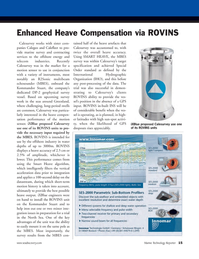 Marine Technology Magazine, page 15,  Nov 2011