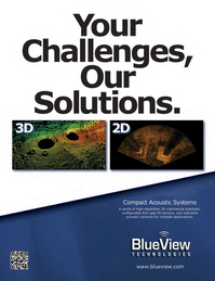 Marine Technology Magazine, page 2nd Cover,  Nov 2011