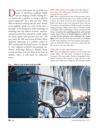 Marine Technology Magazine, page 26,  Nov 2011