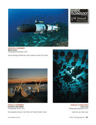 Marine Technology Magazine, page 41,  Nov 2011