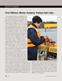Marine Technology Magazine, page 52,  Nov 2011