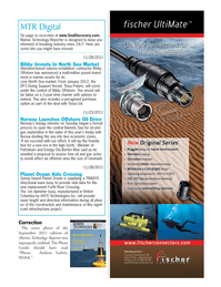 Marine Technology Magazine, page 7,  Nov 2011