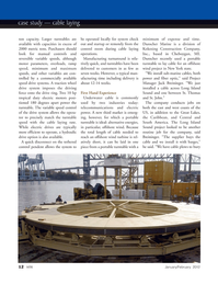 Marine Technology Magazine, page 12,  Jan 2012 Michigan