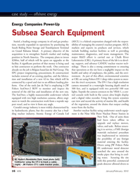 Marine Technology Magazine, page 16,  Jan 2012 EPC