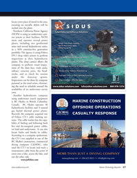 Marine Technology Magazine, page 17,  Jan 2012 Fishers DV-1