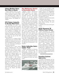 Marine Technology Magazine, page 35,  Jan 2012 35Unique Maritime OpensNew Office