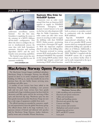 Marine Technology Magazine, page 36,  Jan 2012 Anders Andersen