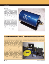 Marine Technology Magazine, page 40,  Jan 2012 TSR-100 Motion Reference Unit