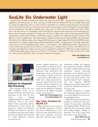 Marine Technology Magazine, page 43,  Jan 2012 software environment