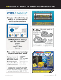 Marine Technology Magazine, page 45,  Jan 2012 Arizona