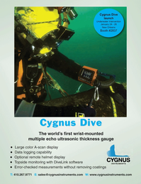Marine Technology Magazine, page 3rd Cover,  Jan 2012