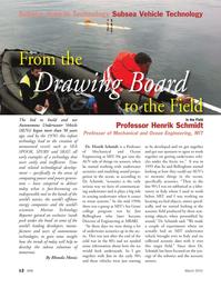 Marine Technology Magazine, page 12,  Mar 2012 Rhonda Moniz