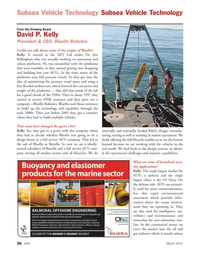 Marine Technology Magazine, page 26,  Mar 2012 oil and gas industry
