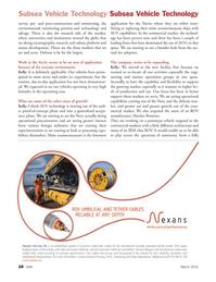 Marine Technology Magazine, page 28,  Mar 2012 Navy