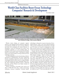 Marine Technology Magazine, page 38,  Mar 2012 Andrew Safer Whether they