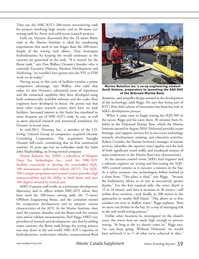 Marine Technology Magazine, page 39,  Mar 2012 Robert Coombs