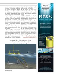 Marine Technology Magazine, page 51,  Mar 2012 tidal test site
