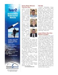 Marine Technology Magazine, page 80,  Mar 2012 Jimmie Pelton