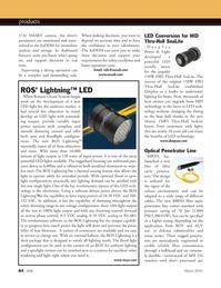 Marine Technology Magazine, page 84,  Mar 2012 LED technology