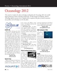 Marine Technology Magazine, page 86,  Mar 2012 seismic survey equipment