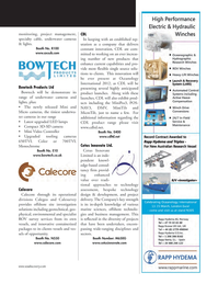 Marine Technology Magazine, page 87,  Mar 2012 survey services
