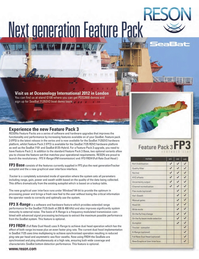 Marine Technology Magazine, page 3rd Cover,  Mar 2012