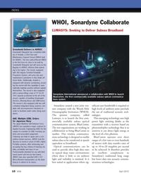 Marine Technology Magazine, page 10,  Apr 2012 light energy