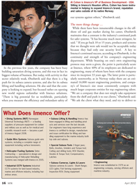 Marine Technology Magazine, page 16,  Apr 2012 safer systems