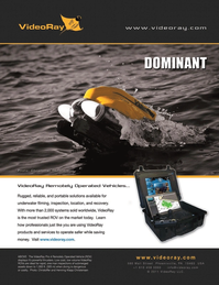 Marine Technology Magazine, page 2nd Cover,  Apr 2012