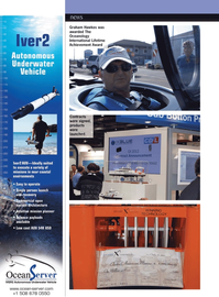 Marine Technology Magazine, page 20,  Apr 2012 Graham Hawkes