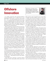Marine Technology Magazine, page 24,  Apr 2012 the necessary services
