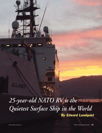 Marine Technology Magazine, page 31,  Apr 2012 North Atlantic Treaty Organization