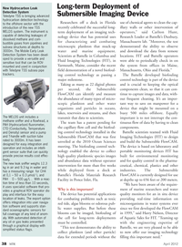 Marine Technology Magazine, page 38,  Apr 2012 imaging technology