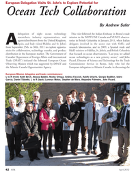 Marine Technology Magazine, page 42,  Apr 2012 Noelia Ortega