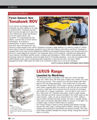 Marine Technology Magazine, page 56,  Apr 2012 Wave Division Multiplexing