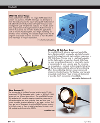 Marine Technology Magazine, page 58,  Apr 2012 interferometric acoustic technology