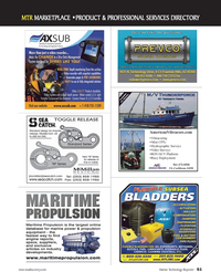 Marine Technology Magazine, page 61,  Apr 2012 Caribbean