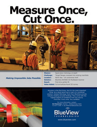 Marine Technology Magazine, page 11,  May 2012