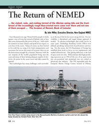 Marine Technology Magazine, page 12,  May 2012 Massachusetts Maritime Academy