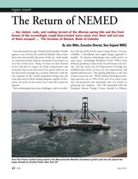 Marine Technology Magazine, page 12,  May 2012 Massachusetts Maritime Academy