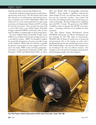 Marine Technology Magazine, page 14,  May 2012 New Hampshire