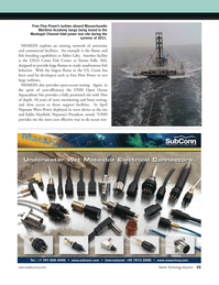 Marine Technology Magazine, page 15,  May 2012 USGS Conte Fish Center