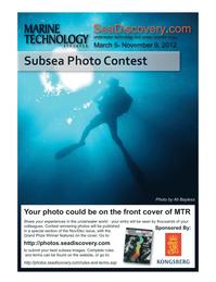 Marine Technology Magazine, page 17,  May 2012 Ali Bayless